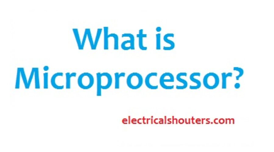 What is Microprocessor