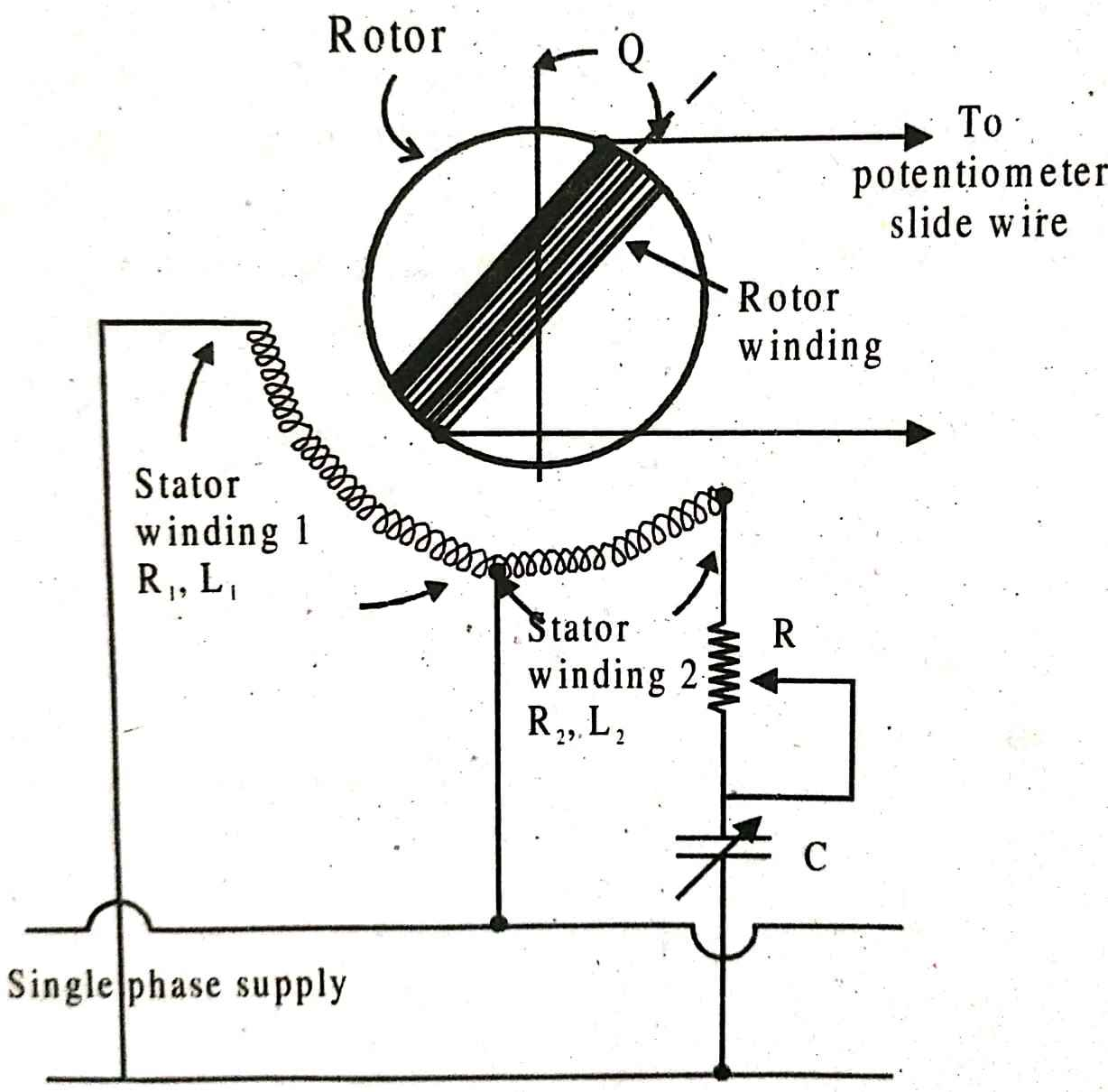 Polar type AC potentiometer | Electrical Shouters on