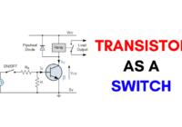 Transistor as a switch
